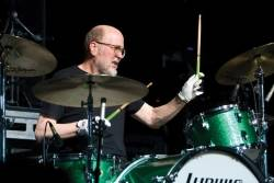 In this May 2, 2009 file photo, Tinted Windows drummer Bun E. Carlos, formerly of Cheap Trick, performs in Atlantic City, N.J.
