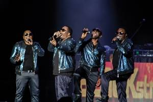 "The R&B group Blackstreet performs at the Cross Insurance Center on Saturday, May 13, 2017 as part of the ""I Love the 90s"" tour featuring 10 bands and artists from the music era."