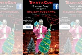 SantaCon is coming to town and Yule love it