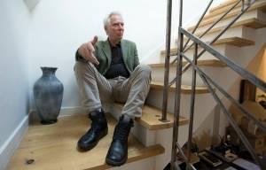AP Photo of Glyn Johns at home on November 5 2014.  AP Photo/Alastair Grant