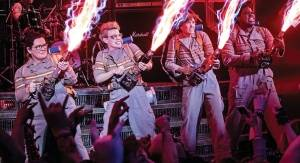 Who you gonna call? - 'Ghostbusters'