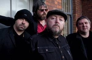The Irish band Pugwash, from lett, Shaun McGee, Tosh Flood, Thomas Walsh and Joe Fitzgerald.