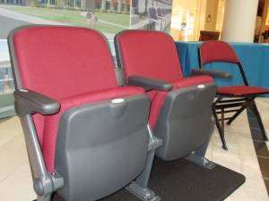Public invited to test out new Bangor auditorium seating