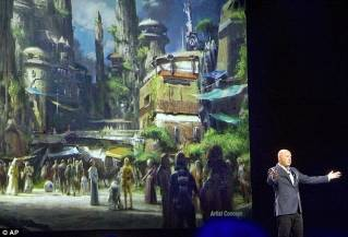 Disney Parks introduce new Star Wars-themed lands
