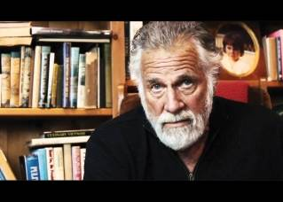 In the above image, Jonathan Goldsmith appears in a video: The Critique - for the Orvis Cover Dog Contest to help fund research for the Fight To End Dog Cancer. )