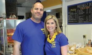 Andy & Susan Stephenson the proud owners of Wee- beez Deli & Market chain