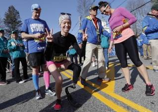 Survivor's Boston Marathon: 26.2 miles of agonizing ecstasy