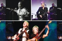 The Rock & Roll Hall Of Fame has announced its 2018 class.  Rock and Roll Hall of Fame inductees include - Left: Nina Simone; Right: Bon Jovi; and Below: Moody Guitarist and singer Justin Hayward and bassist John Lodge from the Moody Blues.