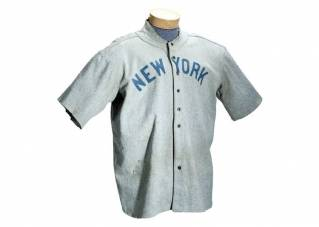 Babe Ruth jersey sells for record $4.4 million