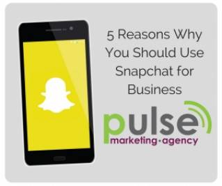 The Marketing Edge – 5 reasons why you should use Snapchat for business