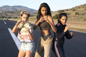 'Charlie's Angels' get their wings