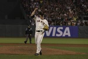 San Francisco Giants pitcher Matt Cain (AP Photo)