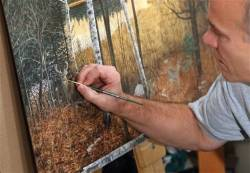 Wildlife artists angle for top prizes, prestige