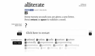 Time Waster - 'Alliterate'